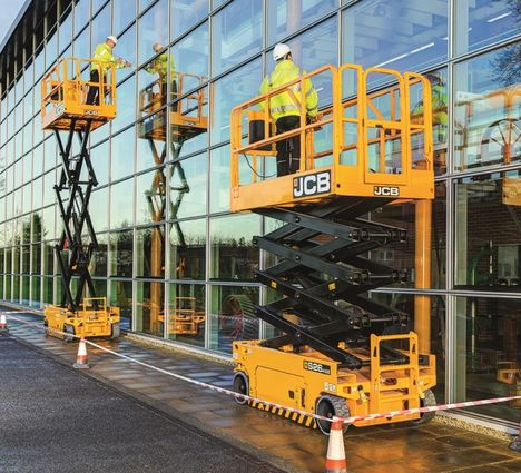 S2632E mid-range JCB electric scissor lift
