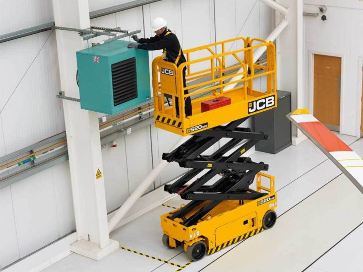 S2032E electric JCB scissor lift